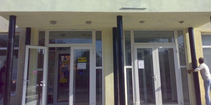 Amenajari exterioare Cladire Romtelecom, Harsova