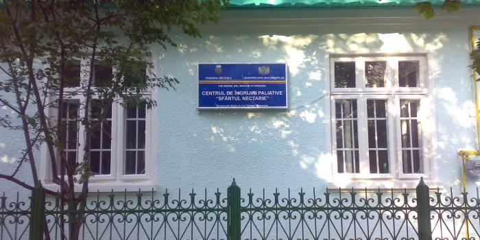 """Centrul de ingrijiri paliative """"Sf.Nectarie"""""""